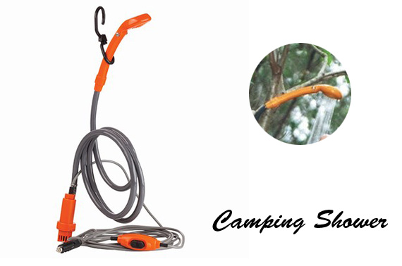 12 Volt Camping Shower