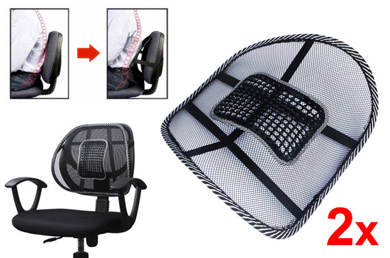 2x Perfect Arch Chair Support with Acupressure