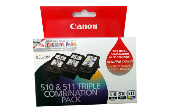 CANON 510 & 511 Triple Combination Pack