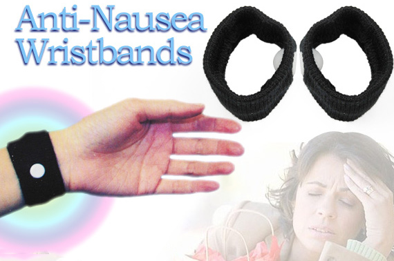 1 Pair of Anti-Nausea Wristbands