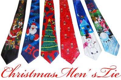 Light-Up Christmas Tie
