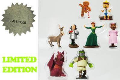 Buy 1 Get 2 Free Shrek Series 1 2 3 Limited Edition