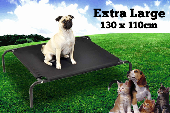 Extra Large (130x110cm) Heavy Duty Trampoline Flea Free Dog/Cat/Pet Bed