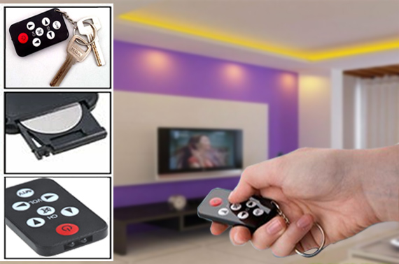 Mini Spy TV Universal Learning Remote Control