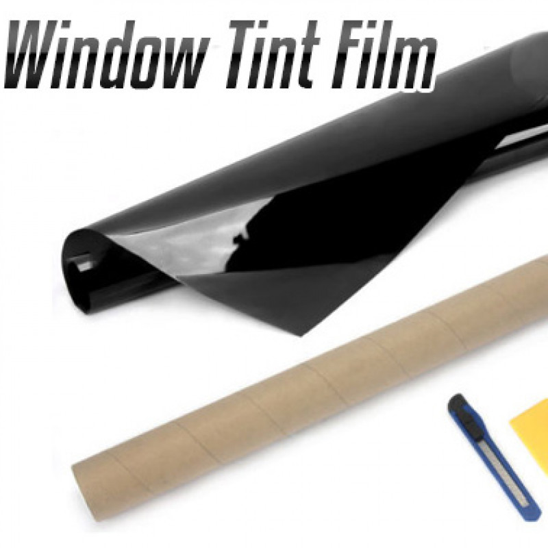 Window Tint Film Black 30% VLT Roll 76cm x 7M