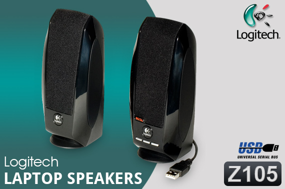 how to set up logitech speakers to cmputer
