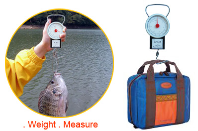 32KG Baggage Scale with Tape Measure