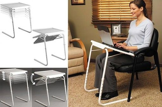 Multi-Purpose Adjustable Tray Table