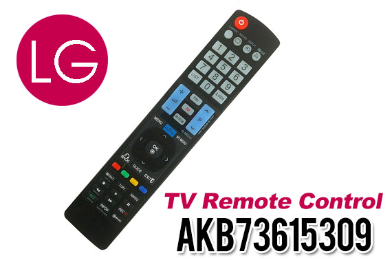 LG TV Remote Control AKB73615309 for 47LM6200 55LM7600 60LM6700