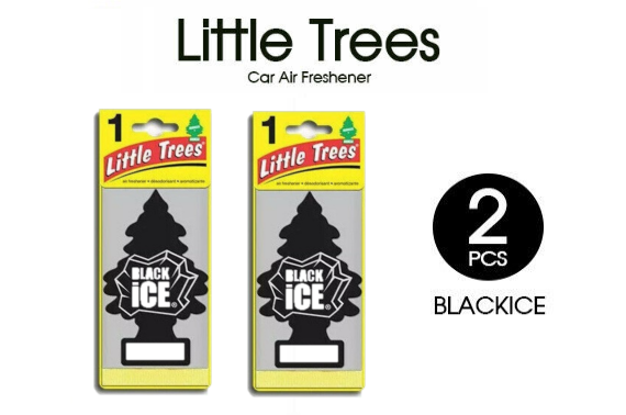 2x NEW LITTLE TREES AIR FRESHENERS CAR TRUCK FRAGRANCE FRESHENER SCENT