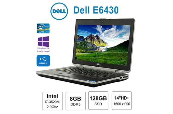 "Refurbished Dell e6430 14"" HD+ (1600x900) Laptop"