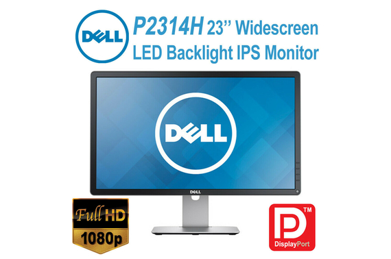 Refurbished Dell P2314H Full HD 23