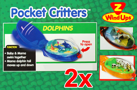 FREE Ozstock Day: 2x Pocket Critters Keychain - Randomly Picked