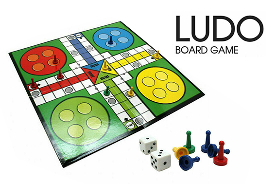 LUDO BOARD DICE GAME