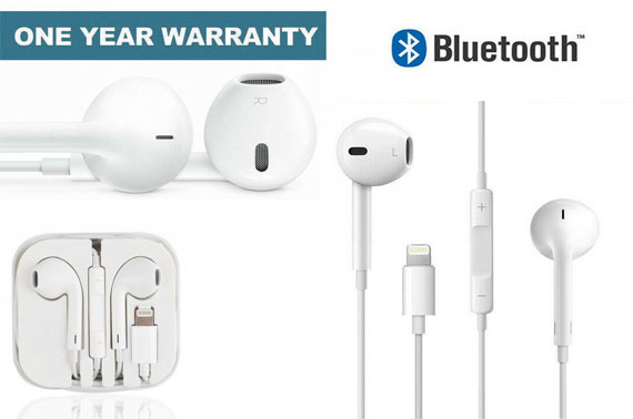 For Apple iPhone 7 8 X Plus XS XR Lightning Bluetooth Headphone Earphone Headset