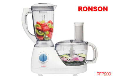 Ronson Food Processor How To Use