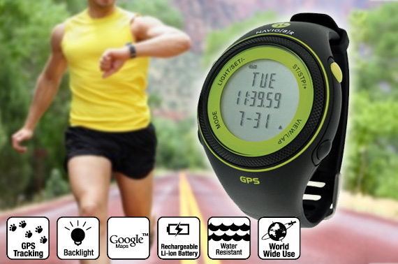 Sports Watch GPS Tracking S20 Slim Green