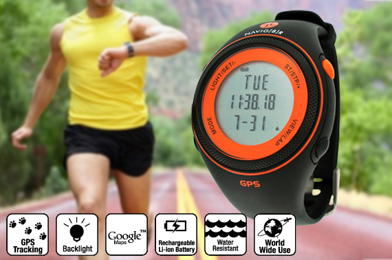 Sports Watch GPS Tracking S20 Slim Orange
