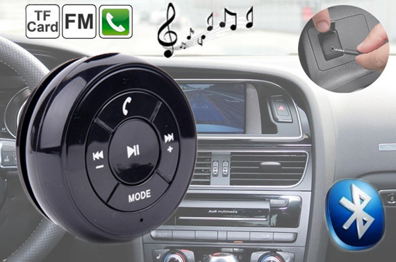 Hands Free Bluetooth Car Kit with Magnet Adsorption
