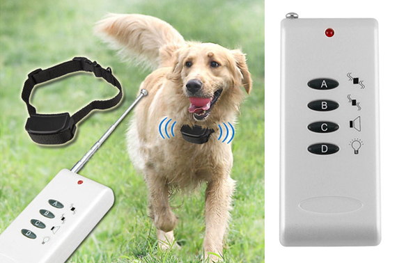 2-Level Dog Anti-Bark Electronic Remote Training Collar