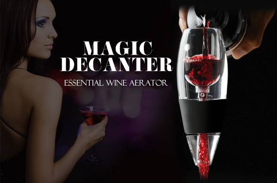 Magic Wine Decanter and Sediment Filter