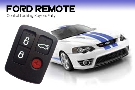 Ford Central Locking Keyless Entry Car Remote