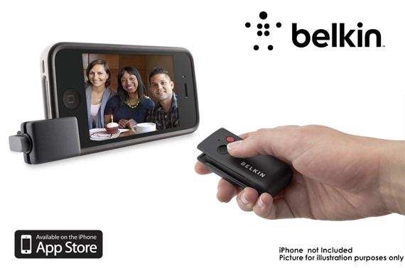 Belkin LiveAction Camera Remote Control for iPhone