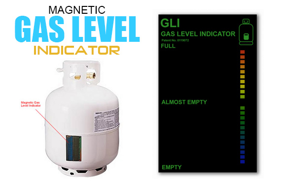 Magnetic Gas Level Indicator