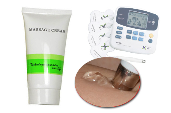 Personal Water Based Massage Cream Gel for Digital Therapy Massage Machine