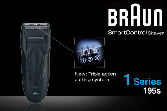 Braun Series 1 195s-1 Washable Cord/Cordless Shaver
