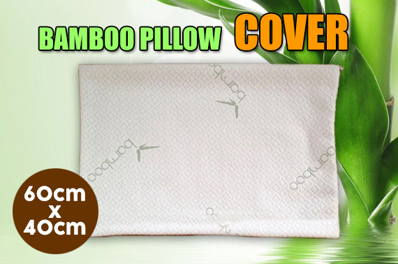 Bamboo Pillow Fabric Cover 60cmx40cm