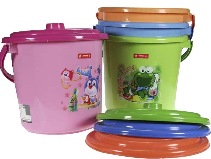 3 Gallon Nappy Bucket With Lid