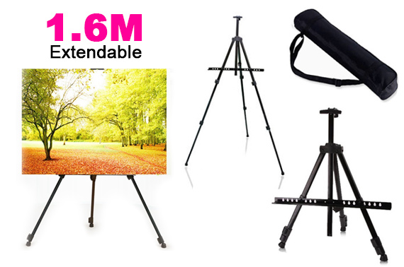 1.6M Adjustable Easel Tripod Display Stand