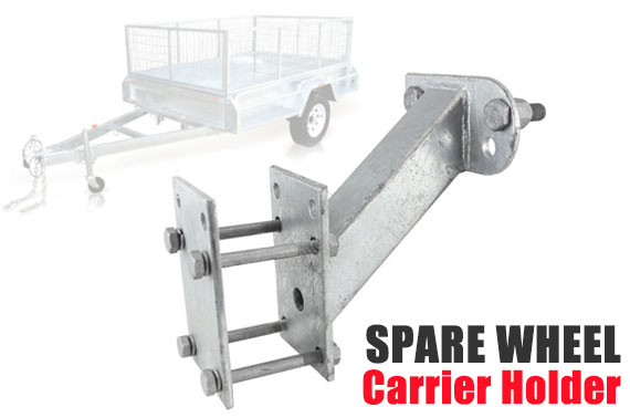 Spare Wheel Carrier Holder for Trailer Caravan Boat
