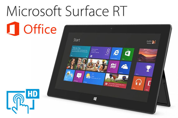 Microsoft Surface RT Tablet (1516) 32GB + Office