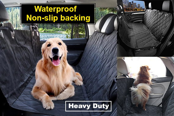 Waterproof Pet Dog Car Seat Cover NonSlip Protector Mat