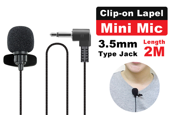 FREE Ozstock Deal: Clip-on Lapel Mini Lavalier Microphone For Mobile Phone PC Recording
