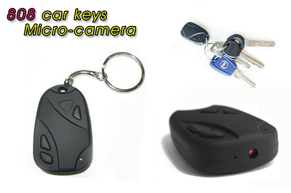 MicroSD Car Key Micro Spy Camera