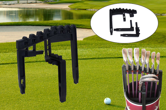 Golf Iron Holder - Holds 9 Golf Irons