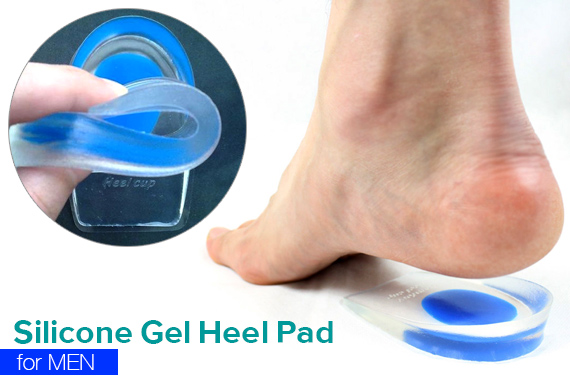 Silicone Gel Heel Pad for Men
