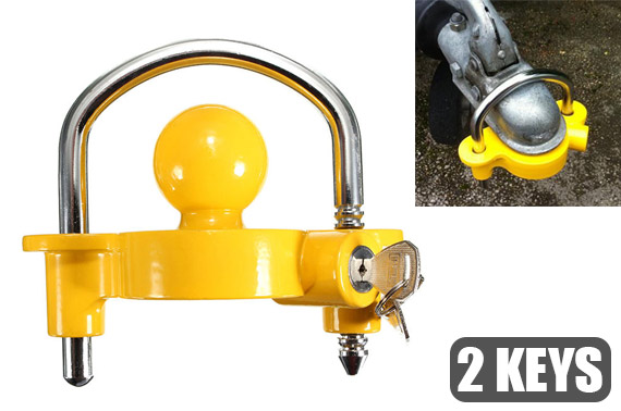 Universal Trailer Coupling Hitch Lock