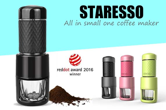 STARESSO All in One Portable Manual Coffee Maker