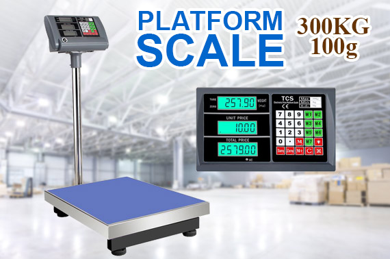 300kg Electronic Computing Digital Platform Scale