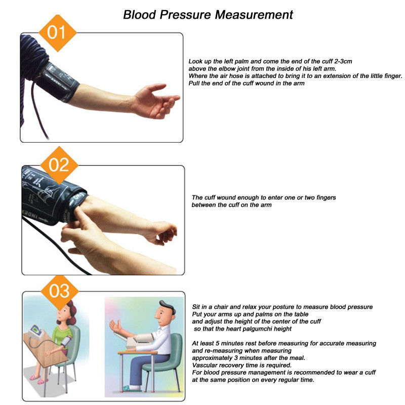 Automatic Digital Upper Arm Blood Pressure Monitor W   Lcd Display