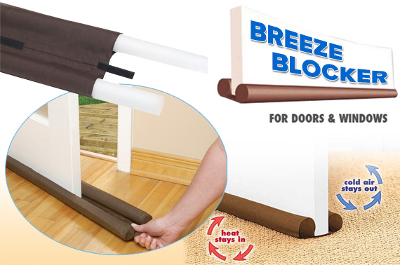 breeze blocker door and window guard against air leak from both sides. Black Bedroom Furniture Sets. Home Design Ideas