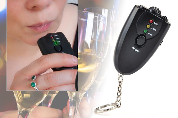 FREE Ozstock Day: Pocket Alcohol Breath Tester