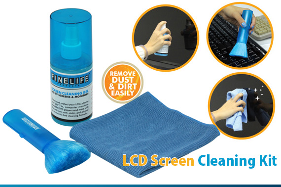 LCD/Plasma Screen Cleaning Kit