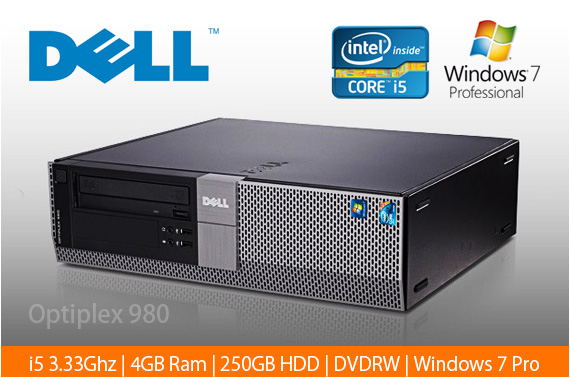 Limited Stock: Ex-leased Dell Optiplex 980 Desktop PC