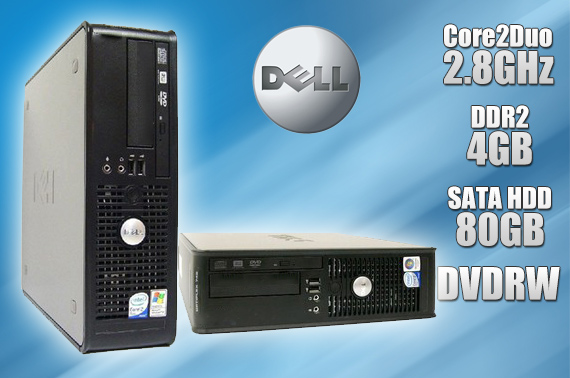 Refurbished Dell OptiPlex 760 Small Form Factor Desktop PC