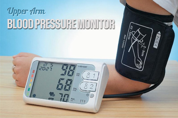 Ex-Demo VISAGE 35888 Automatic Digital Blood Pressure Monitor